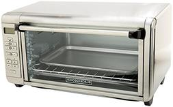 BLACK+DECKER TO3290XSD Extra-Wide Toaster Oven, Stainless St