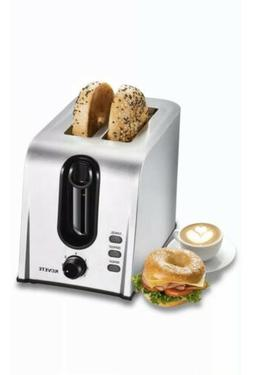 Toaster 2 Slice Best Rated Prime, Retro Style Brushed Stainl