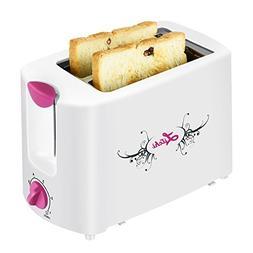Toaster 2 Slice,Adjustable Temperature Control With Wide Slo