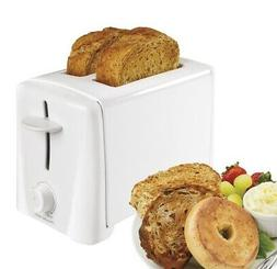 Toaster 2 Slice Wide Slot Bread Bagel Dual Function Breakfas