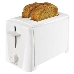 Toaster 2 Slice Wide Slot Bread Bagel Dual Function Breakfas
