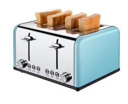 Toaster 4 Slice, Extra Wide Slots Toaster with BAGEL/DEFROST