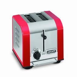 Viking Professional 2 Slot Toaster, Red