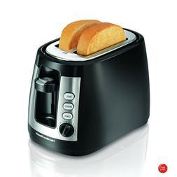 Hamilton Beach Toaster Black Small Best 2 Bread Wide Slot Ki