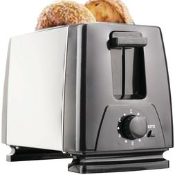 Toaster Bread 2 Slice Electric Wide Bagel Kitchen Cooking To