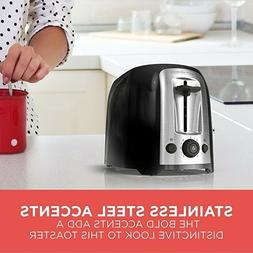 Toaster Classic Oval Extra Wide Slot Stainless Steel Accents