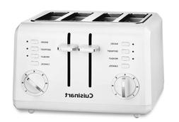 Toaster - Cuisinart CPT-142 Compact 4-Slice Toaster, White