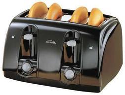 SUNBEAM 3911-100 Toaster, 4-Slice, Black