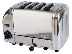 Cadco 4-Slot Toaster, 120-Volt