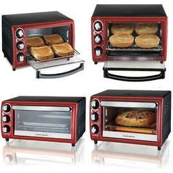 Toaster Oven 4 Slice Food Stainless Steel Adjustable Kitchen