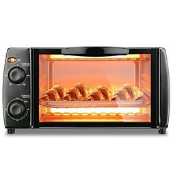 DULPLAY Toaster Oven, Countertop convection stainless steel,