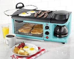 Toaster Oven Breakfast Station New Griddle With Lid Coffee M