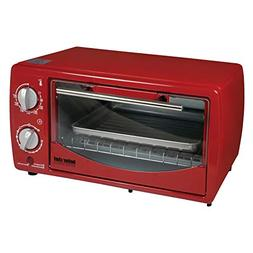 Better Chef 9 Liter Toaster Oven Broiler Red