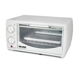 Better Chef 9 Liter Toaster Oven Broiler-White - 1 Year Dire