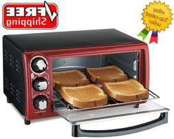 Hamilton Beach Toaster Oven Model# 31146 Red - Free Shipping