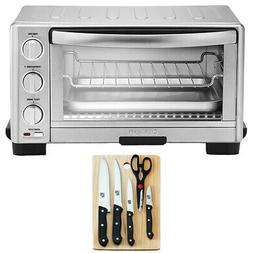 Cuisinart TOB1010 1800W Toaster Oven Broiler + 5pc Knife Set