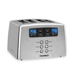 Cuisinart® Touch to Toast Leverless 4-Slice Toaster
