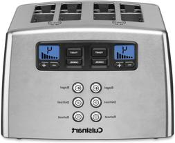 Cuisinart Touch to Toast Leverless toaster, 4-Slice, Brushed