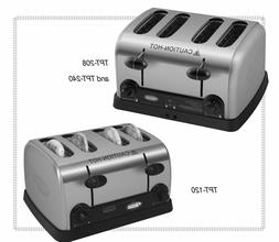 Hatco TPT-120 Commercial Restaurant Toaster NEW Brushed Stai