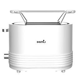 Limee TR0703-bun warmmer 2 slice toaster with wide slots and