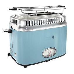 Russell Hobbs TR9150BLR Retro Style Toaster, 2-Slice, Blue F