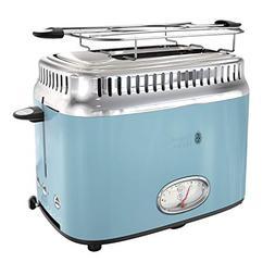 Russell Hobbs TR9150BLR Retro Style Toaster, 2-Slice, Blue