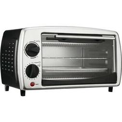 Brentwood TS-345B Toaster Oven Broiler - 4-Slice - 700W