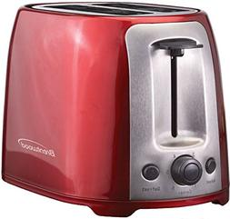 Brentwood Appliances TS-292R Two Slice Cool Touch Toaster, E