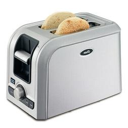 Oster TSSTRTS2S2 2-Slice Digital Countdown Toaster, Brushed