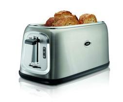 Oster TSSTTRJB30-033 4-Slice Long-Slot Toaster, Stainless St
