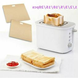 US Reusable Toaster Bag for Grilled Cheese Sandwiches Bread