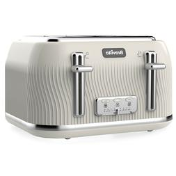 Breville VTT892 Flow Collection 4 Slice Cream Toaster 220 Vo