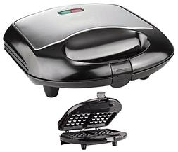 Professional Waffle Maker Stainless Steel Nonstick Baker Coo