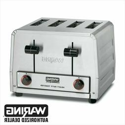 Waring WCT805 Commercial Heavy Duty 4 Slot Toaster 240V 1 YE