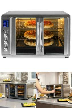 XL Countertop Turbo Convection Toaster Oven w/ French Doors